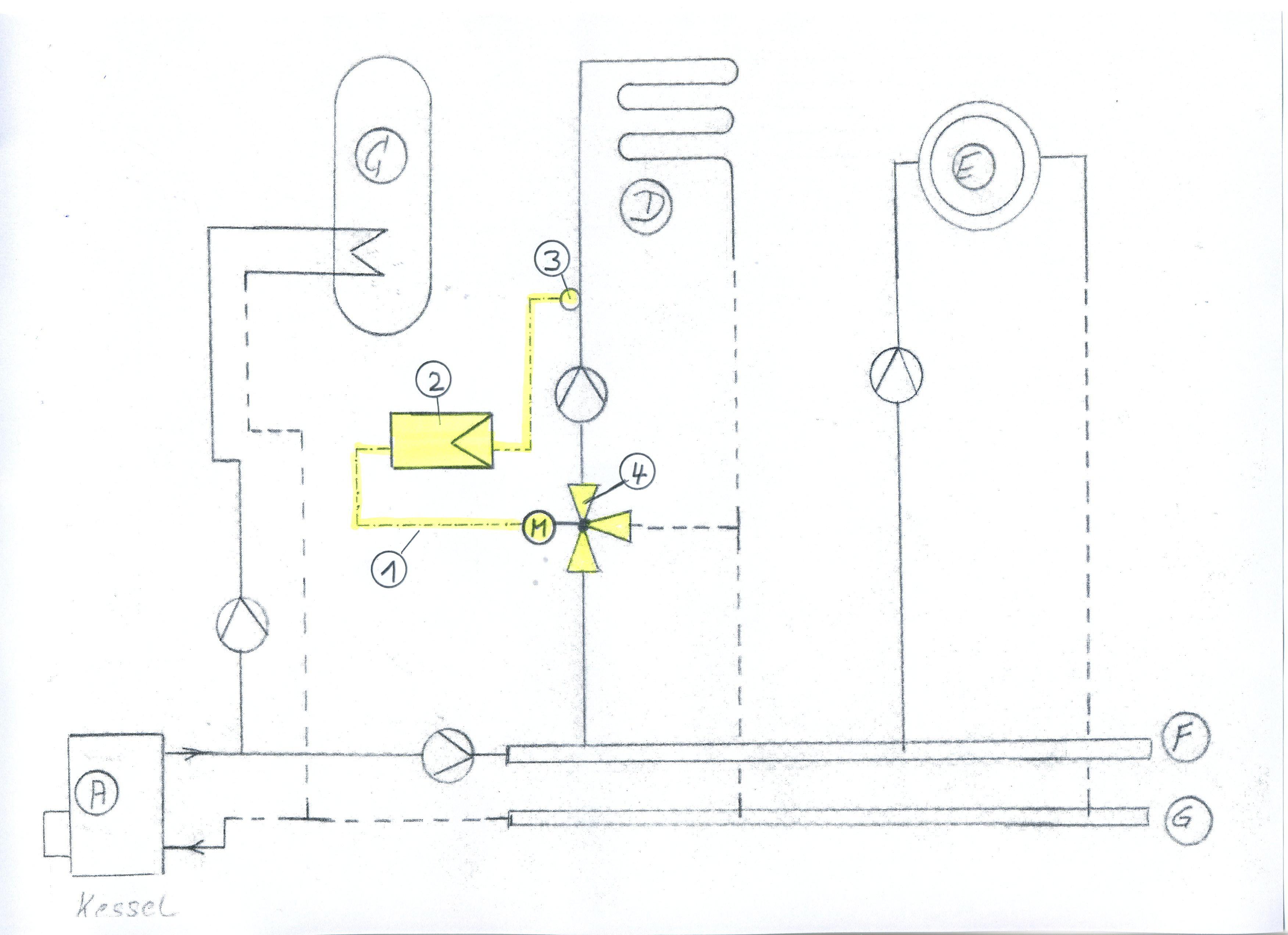 wunderbar schema der heizungsanlage ideen die besten elektrischen schaltplan ideen. Black Bedroom Furniture Sets. Home Design Ideas